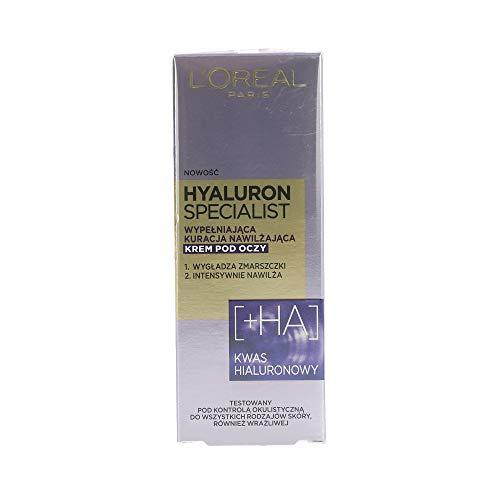L'oreal Paris Hyaluron Specialist Feuchtigkeitsspendende Augencreme 15 ml