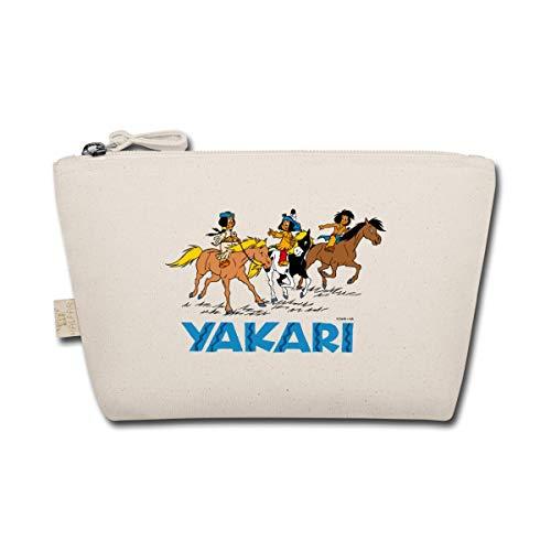 Spreadshirt Yakari, Regenbogen Und Der Kleiner Dachs Täschchen, Natur