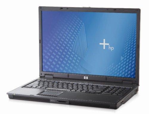 HP NX9420 43,2 cm (17 Zoll) WSXGA Laptop (Intel Centrino Core Duo T2400 1,83 GHz, 1 GB RAM, 80 GB HDD, DL DVD+/-RW, XP Prof)