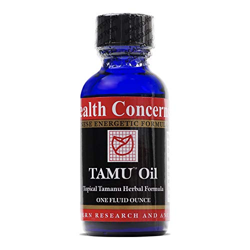 Health Concerns - Tamu Oil - Topical Tamanu Chinese Herbal Formula - Overall Skin Support and Relief - with Tamanu Oil - 1 fl oz