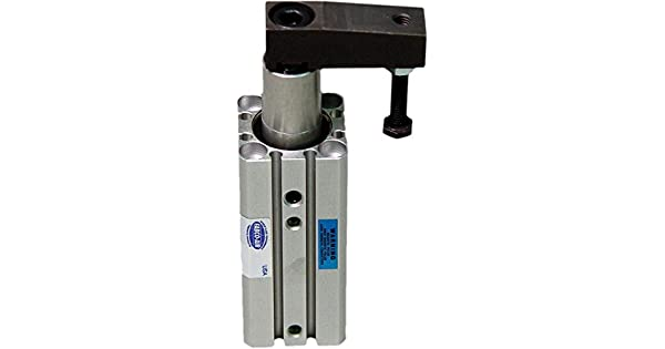 63 mm Bore Fabco-Air SC63X50R Pneumatic Swing Clamp Cylinder Clockwise Rotation 50 mm Straight Stroke FAB   SC63X50R Double Acting