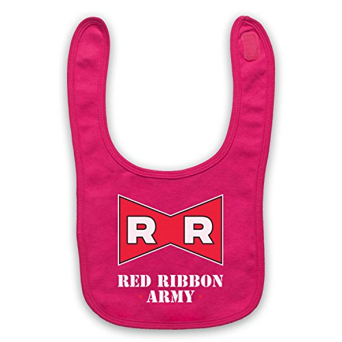 Dragon Ball Z Red Ribbon Army Bavoir de Bebe, Rose