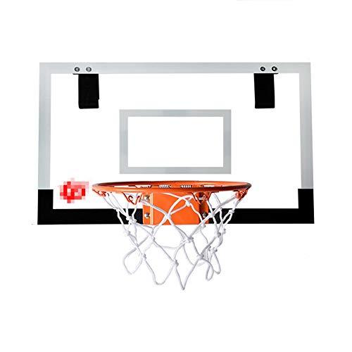 MHCYKJ Mini Canasta Baloncesto Pared Habitacion De Puerta Juego Montado En La para Niños Colgar sobre Puertas Hogar Oficina Dormitorio