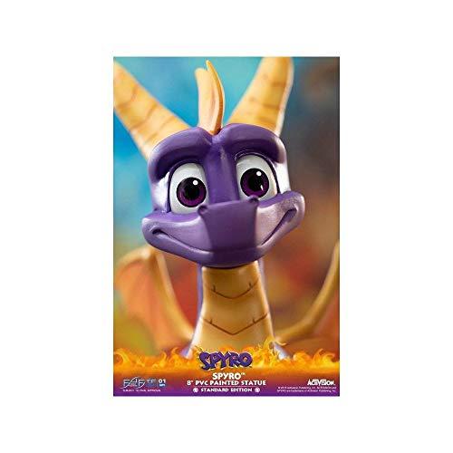 First 4 Figures 5060316621783 Spyro The Dragon PVC Statue, Mehrfarbig