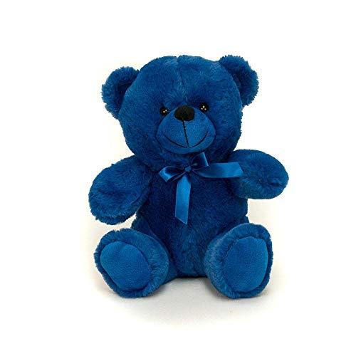 Grandma Smiley's Plush Best Friends 9' Super Color Teddy Bears (Royal Blue)