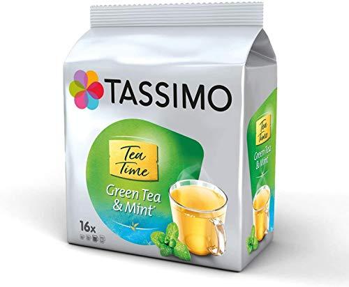 Tassimo Tea Time Green Tea & Mint, 6er Pack, 6 x 16 T-Discs