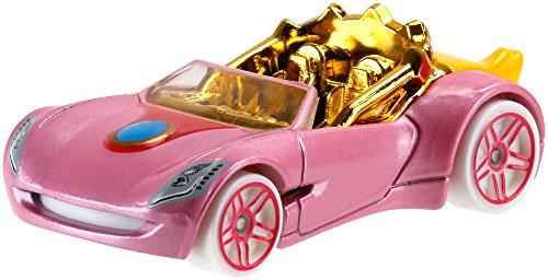 Voiture Hot Wheels Super Mario - Princesse Peach - Mattel