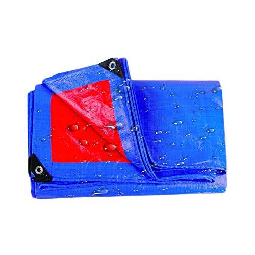 Lulu Lona resistente al agua, lona pesada con ojales, primera calidad, de 220 g/m², 4 × 6 M