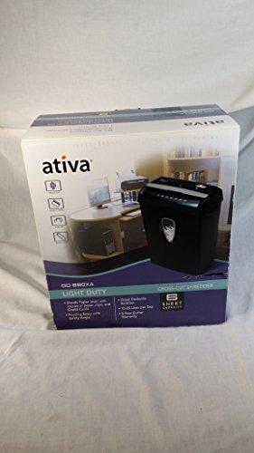 Ativa OD 690XA Cross Cut 6 Sheet Paper Shredder