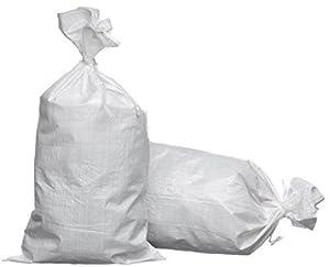 Prices eSandbags - Empty Polypropylene Sand Bags w/Tie