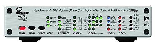 Mutec MC-3+ USB Smart Clock Audio Clock Generators , Distributors Sampling Rate Converters