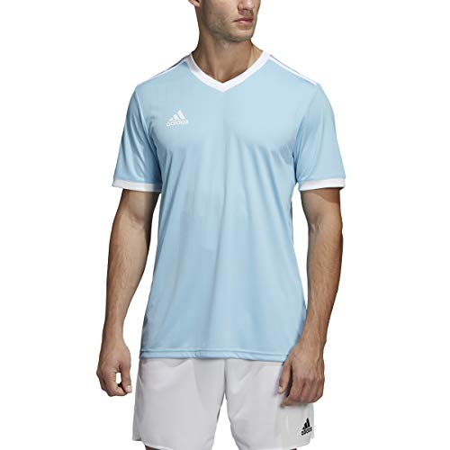 adidas Tabela 18 Jersey - Men's Soccer XL Clear Blue/White