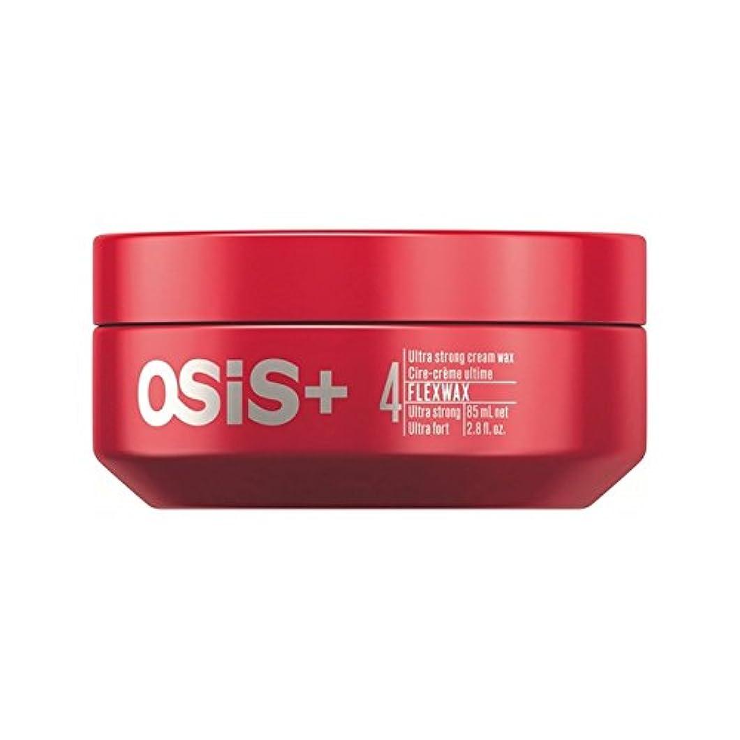メンタルラブそれによってSchwarzkopf Osis Flexwax Ultra Strong Cream Wax (85ml) - シュワルツコフ 超強力なクリームワックス(85ミリリットル) [並行輸入品]