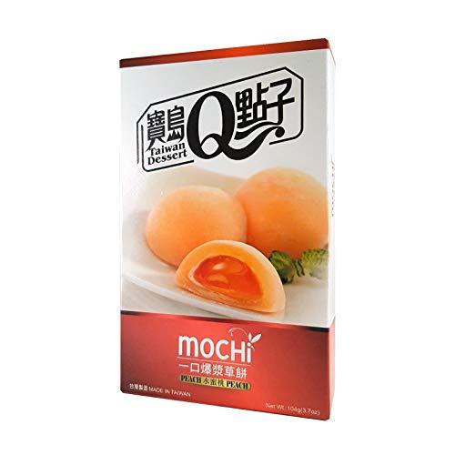 Japanischer Pfirsich Mochi / Reiskuchen 8 x 13g, 104g