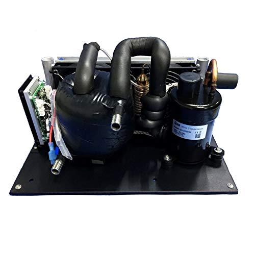 Kit condizionatore d'aria Modulo refrigeratore liquido DC 24V 125-400W Modulo refrigerante, Refrigeratore coassiale-C Modulo refrigerante R134A Refrigerante Refrigerazione acqua pura Refrigeratore ele