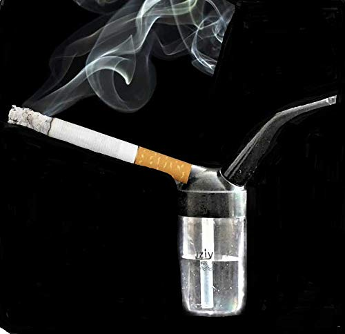 Cigaratte Water Pipe Filteration, Reduces Harmful substances from Smoking Cigarette Pocket Size
