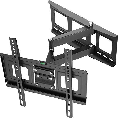 TecTake Soporte de Pared para TV de Pantalla Plana, inclinable y Giratorio VESA 400x400 máximo 70kg 81 - 140 cm (32' - 55')