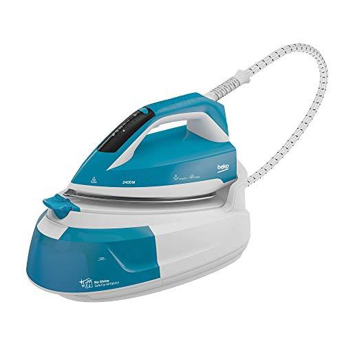 Beko Plancha SGA6124D Blanco-Azul
