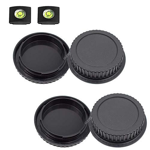 Tapa de cuerpo delantero y tapa de lente trasera para Canon EOS...