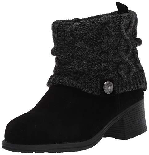 MUK LUKS Women's Haley Boots - Black