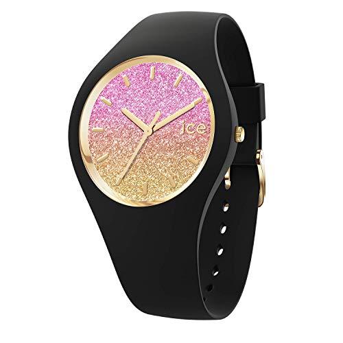 Ice-Watch - ICE lo Black Mango - Schwarze Damenuhr mit Silikonarmband - 016905 (Medium)