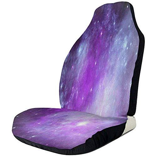 Alice Eva Sièges d'auto Couverture Galaxy Space Nébuleuse étoiles et planète sièges avant Couverture Protecteur de siège auto pour VUS