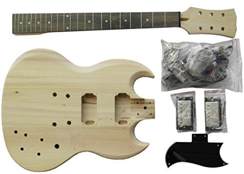 Guitarra Eléctrica SG - Paquete Hágalo Usted Mismo - Construye Tu Propia Guitarra