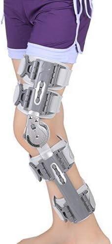 Rodilleras médicas Pedales Estaticos Médica ayuda de la rodilla ROM con bisagra ajustable Paréntesis de rodilla, la rodilla de la pierna del inmovilizador aparatos ortopédicos de la rótula de la rodil