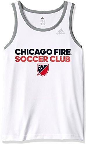 MLS Philadelphia Union Men's USA Performance Tank, White, Large