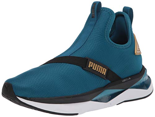 PUMA Damen Lqd Cell Shatter Xt Cross Trainer, Blau (Digi-Blue-puma Team Gold-puma Schwarz), 38 EU