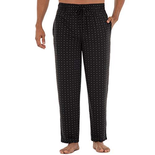 Van Heusen Men's Knit Sleep Pant, Oxford, Small