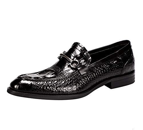 YOWAX para Hombre Zapatos de Cuero Zapatos de Vestir Personalizado Estilo de...