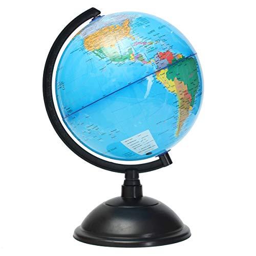 CROSYO 1 stück 20 cm rotierende globus Weltkarte der erdgeographie Schule pädagogisches Werkzeug Home büro Ornament Geschenk