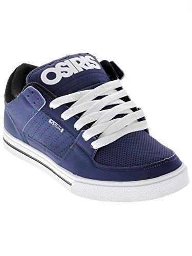 Osiris Herren Protocol Skate Schuh, Blau (Marineblau/Schwarz/Weiß), 38 EU