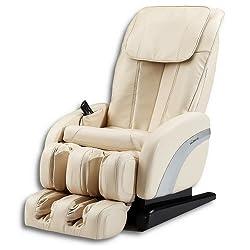 Home Deluxe - Massagesessel - Sueno beige V1 - inkl. komplettem Zubehör