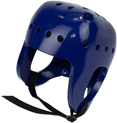 Danmar Products Full Coverage Soft Shell Helmets, Blue, Medium