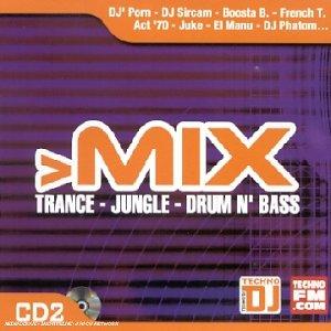 scheda mix trance jungle drum n  bass (cd 2)