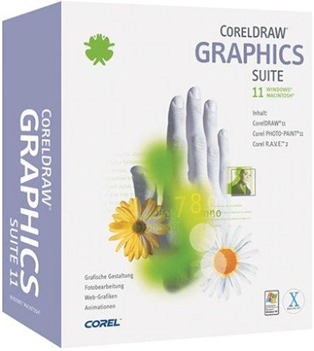 CorelDRAW Graphics Suite 11 deutsch