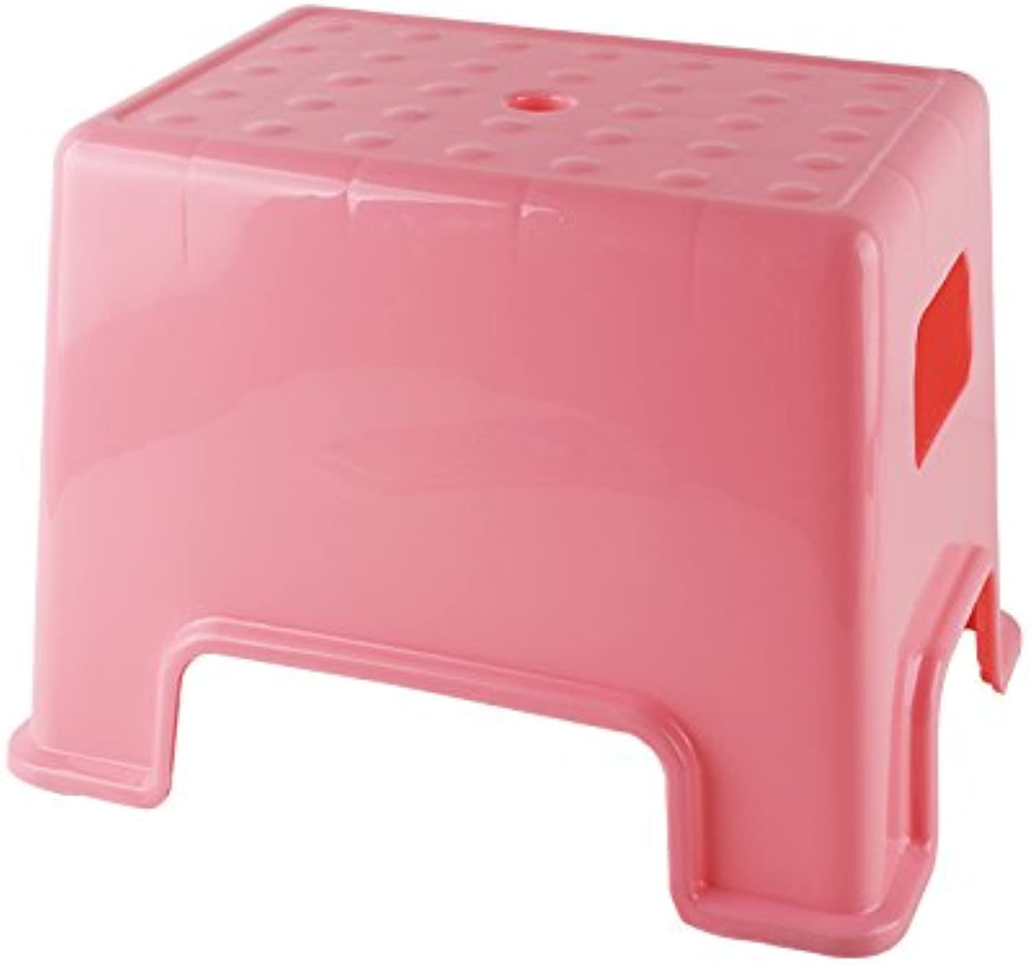 Dana Carrie A plastic stool home thick adult bathroom square bench benches thick low stool in other shoe bench 4PCS, pink ,3431.539CM