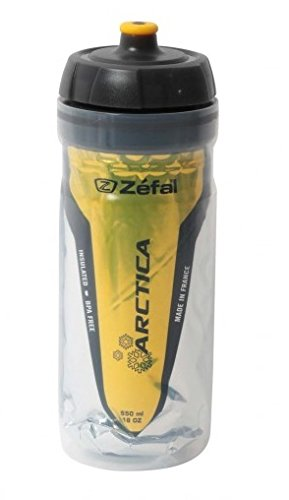 Zefal 165D, Arctica Bidón de ciclismo Isothermo, Unisex Adulto, Rojo, 750 ml