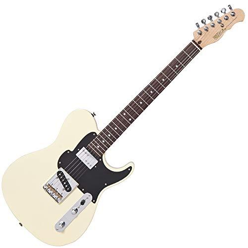 Fret-King Country Squire - Guitarra eléctrica clásica, color blanco
