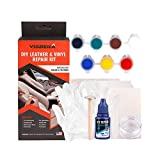 Moonvvin Cuir Vinyle kit de réparation pour Liquide Cuir Touch Up Recolor kit Restaurateur...
