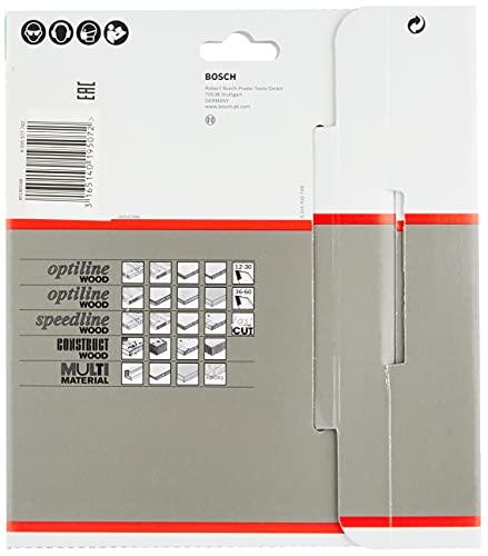 Bosch Pro Kreissägeblatt Optiline Wood zum Sägen in Holz für Handkreissägen (Ø 160 mm) - 4