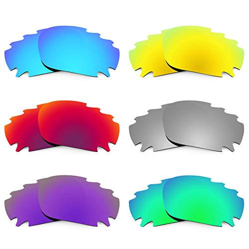 Revant Ersatzlinsen für Oakley Racing Jacket Vented Polarisiert 6 Paar Kombipack K026