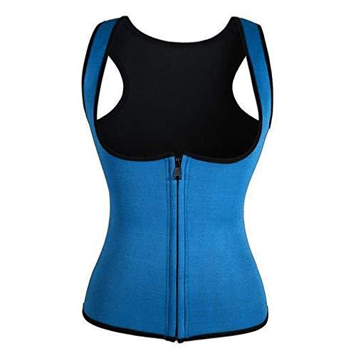 serliy😛Damen Unterbrust Korsett Figurformend Bauchweg Body Shape Tank-Top Stark Formend Körperformer Mieder Verstellbar Oberteil Shapewear