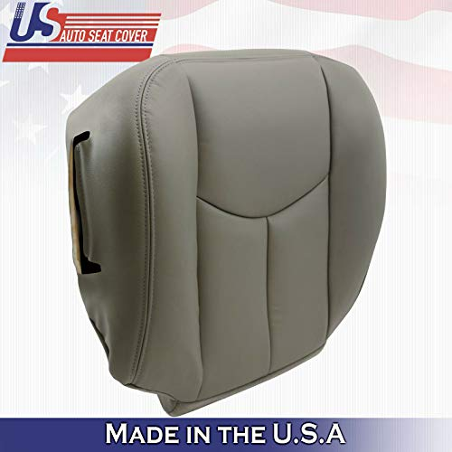 Driver Seat Cushion Cover Gray 922 for 2003-2006 Chevy Tahoe Suburban Powered