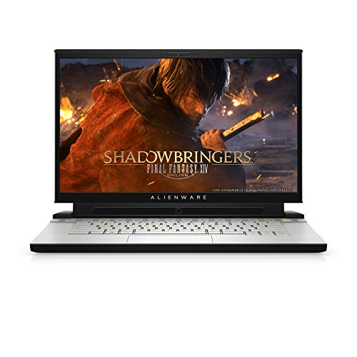 Alienware m15 R2 15.6-Inch FHD 144Hz Tobii Eye-Tracking Gaming Laptop - (Lunar Light) Intel Core i7-9750H, 16 GB RAM, 512 GB SSD, Nvidia GeForce RTX 2060 with 6 GB GDDR6, Windows 10 Home