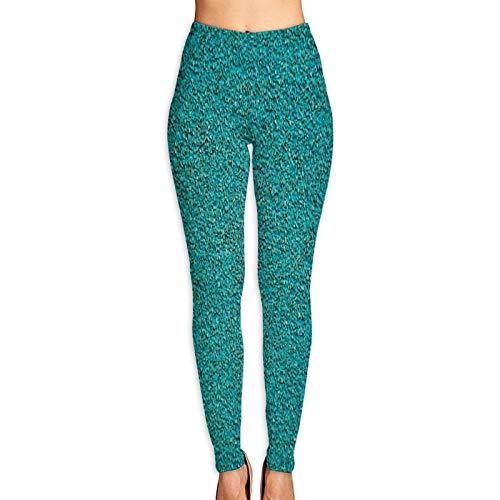 DmiGo Mallas Pantalones Deportivos Leggings,Textura de Patio,Mujer Pantalones de Yoga de Alta Cintura Elásticos para Yoga Running Fitness y Pilates XL
