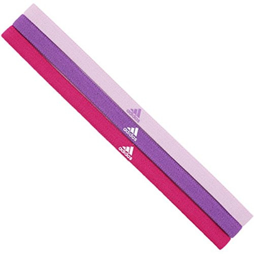 adidas Sport-Haarband 3er-Set pink-lila-rosa, L