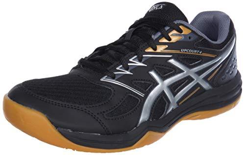 ASICS 1071A053-001_43,5, Zapatillas de Voleibol Hombre, Negro, 43.5 EU